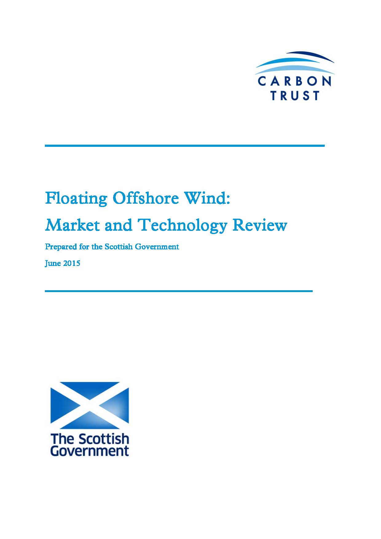 Floating Offshore Wind: Market & Technology Review – The Carbon Trust 2015