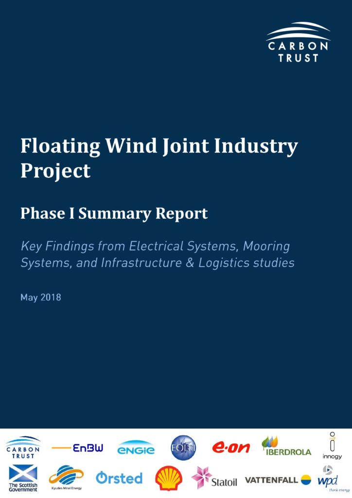 Carbon Trust Floating Wind Joint Industry Project – Quest