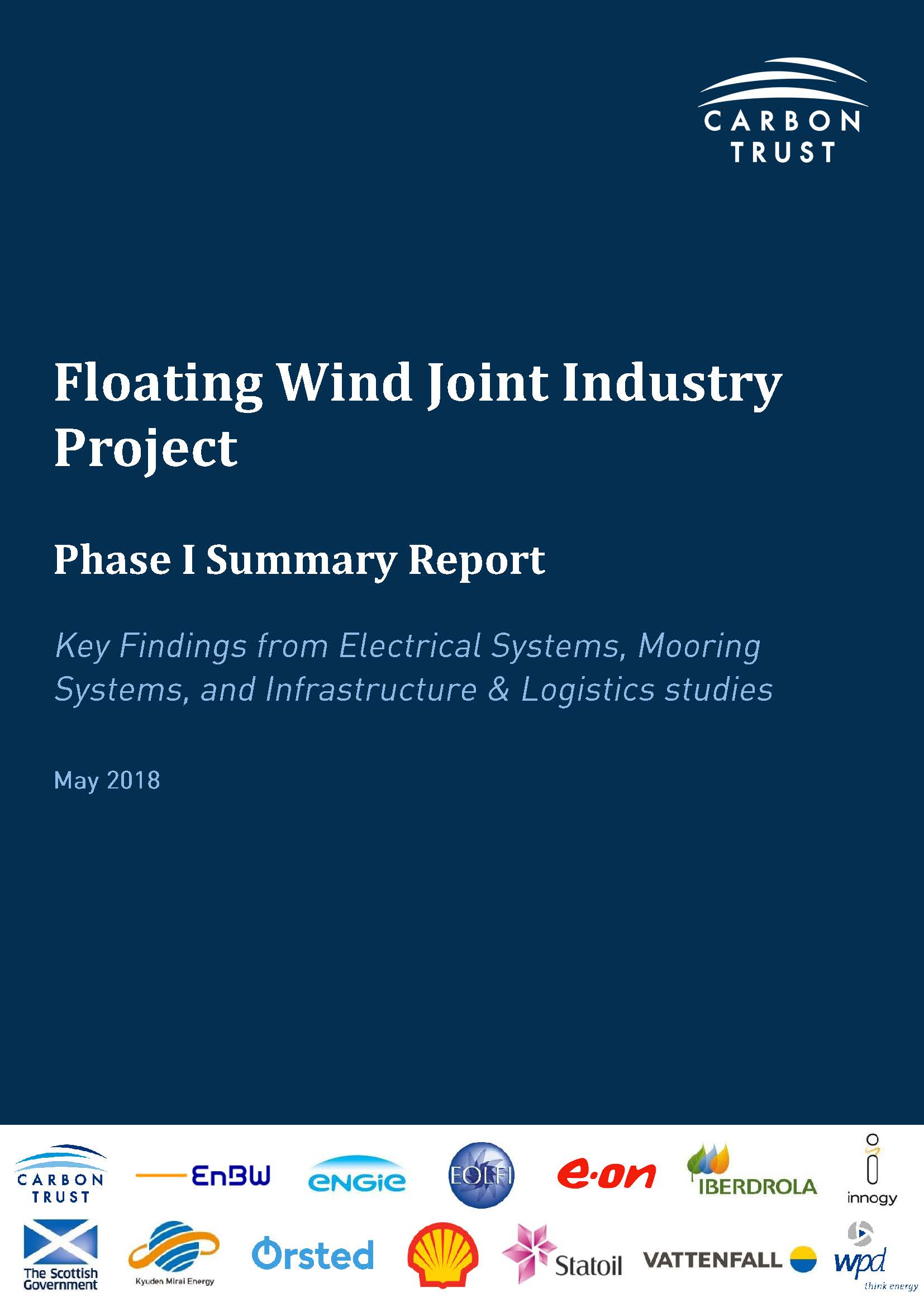 Carbon Trust Floating Wind Joint Industry Project